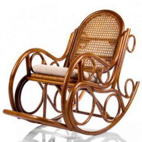 "Кресло-качалка ""Novo"" с подушкой+плед"